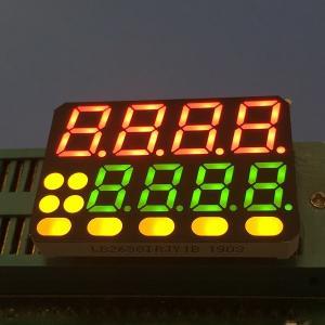 Temperature Indicator 8 Digits 7 Segment LED Display Multicolour Custom Design Manufactures
