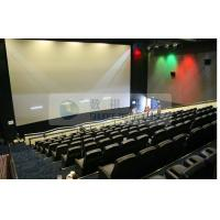 Pneumatic / Hydraulic / Electronic Control 4D Motion Cinema with removable theater seats Manufactures