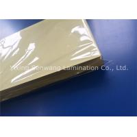 Quality Licenses Sticky Back Laminating Film A4 Size Plastic Laminate Sheet Stain Resistant for sale