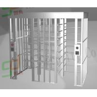 Quality High Security Full Height Turnstiles, Single Lane Access Control System for sale
