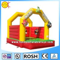 Safe Customed Commercial Inflatable Bouncers 0.55mm PVC Tarpaulin Manufactures
