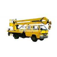 XCMG Special Vehicles Bucket Articulating Truck Mounted Lift 2 Ton Manufactures