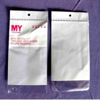 Resealable Cello BOPP Plastic Bags For Dental Kits / Cosmetic Kits Manufactures
