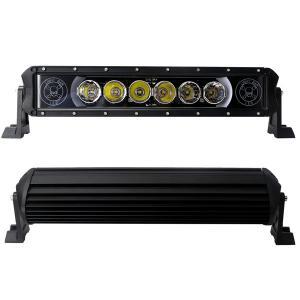 60 Watt Single Rows LED Car Light Bar ( 10W CREE ) Led Driving Light Bar Manufactures