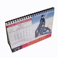 Spot UV, embossing and silver / gold foil, Customized Calendar Printing Service Manufactures