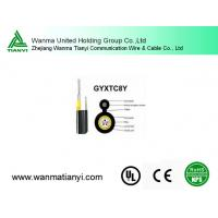 Gyxtc8y aerial and direct buried out door Fiber Optical Cable Manufactures