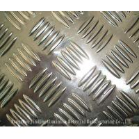 Aluminum Checquered Plates Diamond /5 bars pattern with paper interleveled  1100 1050 3003 5052 5083 for car ,step ,ship Manufactures