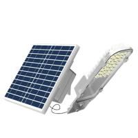 24W Aluminum Alloy Solar LED Street Light Outdoor Solar Road Lamp Two Battery Type Solar Separate Install With Light Manufactures