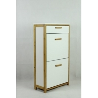 24cm Depth 52cm width wooden shoe cabinet for 12 pairs Manufactures