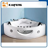 Luxury Sector Jacuzzi Corner Bathtub , 2 Person Whirlpool Bathtub For Small Space Manufactures