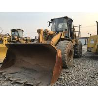 China 966G Used Caterpillar Wheel Loader A/C Cabin 253HP Engine 295L Fuel Capacity on sale