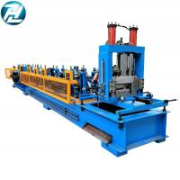 3mm Thickness C Z Purlin Roll Forming Machine 8 - 12mpa Work Pressure Manufactures