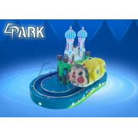 Children Kiddy Ride Machine Electric Amusement Indoor Mini Train Rides Manufactures