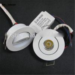 10pcs/Lot 1W 3W Mini LED downlight white round ceiling spot lights 110V 220V led panel light Recessed Aluminum lamp Warm Manufactures