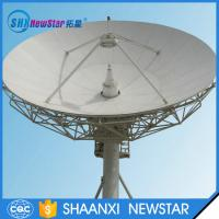11.0m earth station receiving and transmitting together satellite communication antenna Manufactures
