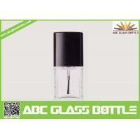 China High quality 18ml clear glass bottle with screw cap for nail polish on sale