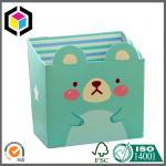 Cute Design Box Color Print Paper Stationery Makeup Cosmetics Desk Mini Carton Box Manufactures