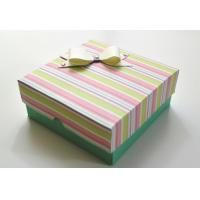 Customized Luxury Paper Gift Box , Recycled Paper Drawer Box Manufactures