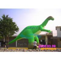 China Custom Blow Up Cartoon Characters , Dinosaur Air Characters Inflatables on sale
