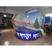 Quality market city inflatable snow globe , giant inflatable snow globe , dubai plastic for sale