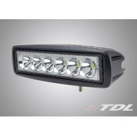 6 LED 18W Outdoor LED Vehicle Work Lights , Spot / Blood Beam , 30000 Hours Life Time Manufactures