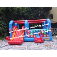 Plato 0.55mm Slide Kids Inflatable Combo Bouncer for Entertainment Manufactures