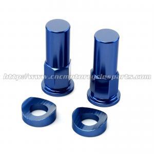Quality High Strength MX Bling Kit Ktm Chain Adjuster Blocks For HUSABERG TE FE for sale