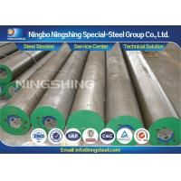 Forged / Annealed L6 Alloy Tool Steel , Peeled / Turned Tool Steel Round Bars Manufactures