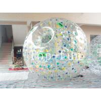 Giant Inflatable Zorb Ball / Water Zorb Ball For Environmental Water Games Manufactures