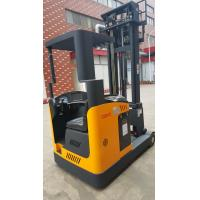 1.5-2 ton forklift reach truck narrow aisle seated electric reach truck yellow color Manufactures