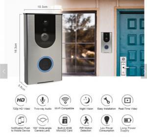 Waterproof Intercom Ring Doorbell Pro 200m Range MP3 Downloadbale USB Wireless doorbell Manufactures