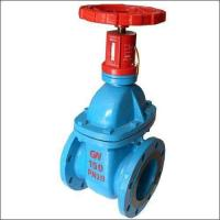 Sewage Resilient Seated Gate Valve Pn10 Light Weight With Corrosion Resistance for sale