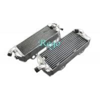 Custom Brazed Aluminum Motorcycle Radiator For KTM400 / 450 / 525 SX / MXC / EXC 03-07 Manufactures