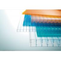 Light Weight Multiwall Polycarbonate Sheet Uv Roof Sheeting 10 Years Guarantee Manufactures