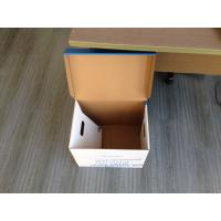 Corrugated carton box , Bank file box, File box Manufactures