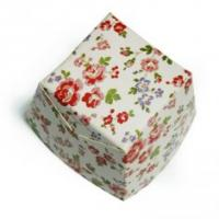 Quality Square Cake Cup Garden Flower Decorative Cupcake Wrappers of party cups for sale