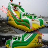 Inflatable water slide  hot Sell Outdoor Inflatable Water Slide Product for sale Manufactures