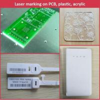 Quality Plate and animal ear tag portable fiber laser marking machine CE for sale