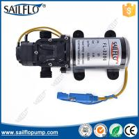 Sailflo 12V  6LPM  diaphragm demand pressure water pump with self-priming for water heater Manufactures