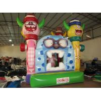 Buy cheap Little Monsters Inflatable Kids Bounce House Digital Painting Inflatable Monsters Bounce For Hallowmas from wholesalers