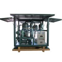Highly effective vacuum transformer oil regeneration system/insulation oil reclamation machine Manufactures