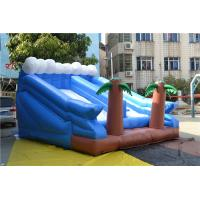 Funny Giant Inflatable Sports Games With Trees For Kids Playing Manufactures