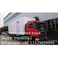 JAC brand LHD 15tons refrigerated truck for fresh fruits and vegetables for sale, JAC brand 10-15tons cold room truck Manufactures