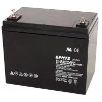 UPS 75ah12v Deep Cycle Gel Battery Rechargeable With Big Capacity Manufactures