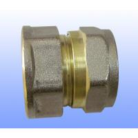 Quality compression brass fitting female straight for PEX-AL-PEX for sale