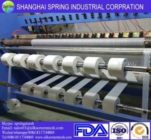 100 Micron Filter Mesh Fabric , Nylon Mesh Filter Ribbons No Fraying Edges Manufactures
