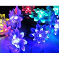 Quality Outdoor Solar Powered Flower Lights / Solar Blossom Lights Low Carbon No Pollution for sale