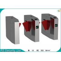 Quality Intelligent Flap Barrier Gate Physical Access Control Security Pedestrian Turnstile for sale
