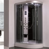 Quality All In One Shower Stall P Shaped Shower Enclosure With Sitting Tub Sanitary Ware for sale