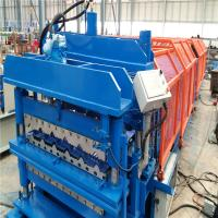 Auto Control Control System Metal Roof Tile Glazed Tile Roll Forming Machine 2-3 M/Min